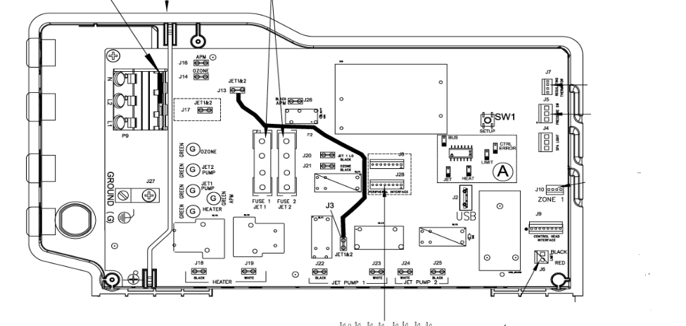 hawk 76856 control box vz hawk dom 12 caldera spa wiring diagram at bayanpartner.co