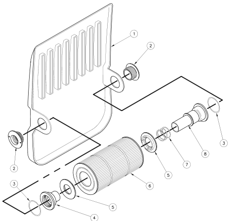 30768 retainer bottom for Abc salon equipment