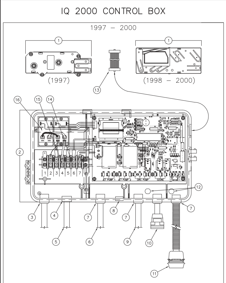 Hot Tub Hot Springs Iq 2000 Wiring Diagram - Electrical Work Wiring ...