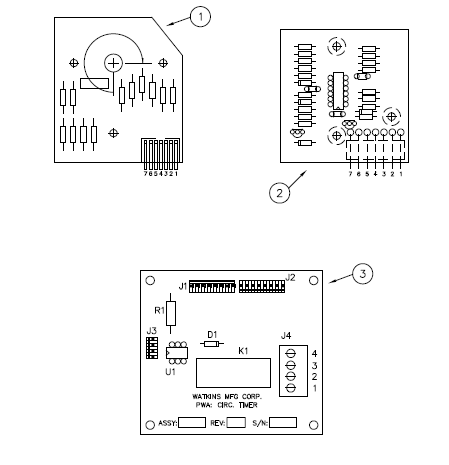 71340 tr tstat board parts and filters