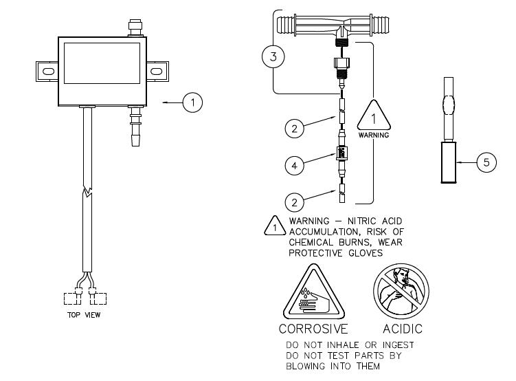 Hot Springs Ozonator Check Valve 1044101 tr Ozone Check Valve