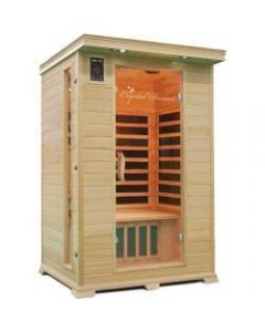 2 Person Family Sauna In Hemlock
