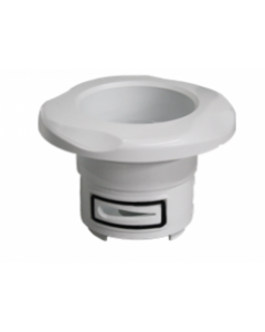 71363 Adjustable Rotary Jet Face, White