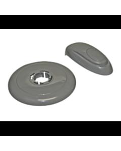 73363 Kit Lever Bezel in Grey, 4 position