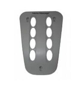 73537 Dual Moto Facia Plate Cool Grey