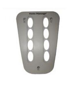 73538 Dual Moto Facia Plate Warm Grey
