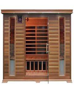 4 Person Family Sauna In Red Cedar
