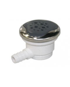 74821 Air Injector Assembly With Escutcheon Cool Grey