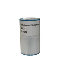 76076 Filter Cartridge 50 Square feet.