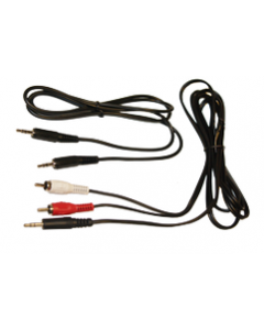 77134 Cable Kit 3.5mm RCA