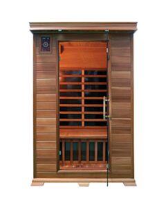 2 Person Family Sauna In Red Cedar