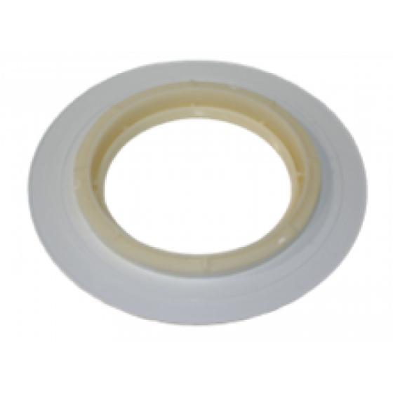 71923 Light Lens Wall Fitting, White