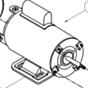 017066 Mount Rubber Pump