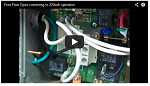 Free Flow Video 220v Conversion