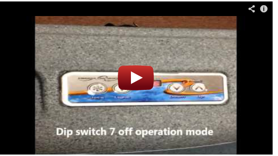 Free Flow Control Panel Operation